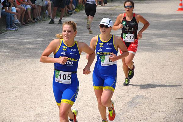 France Jeunes de Triathlon – Coralie Depons revient bronzée de Madine