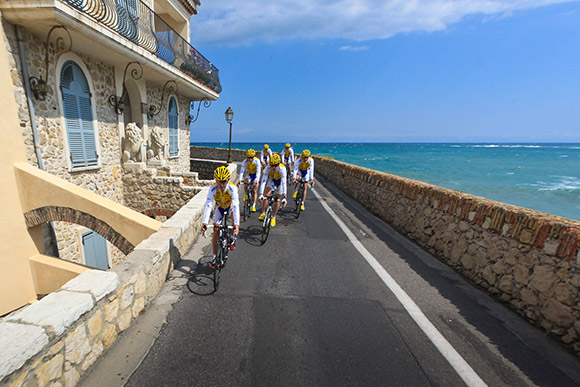 Rebelote pour le stage d'Antibes