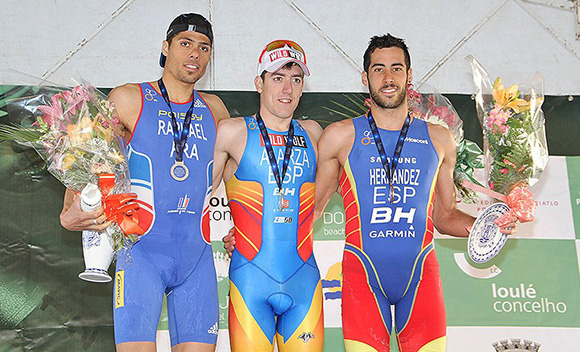 Poissy-Triathlon-Quarteira2013-Aurelien-Raphael