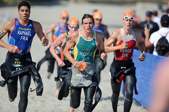 Poissy-Triathlon-WTS-San-Diego-Aurelien-Raphael