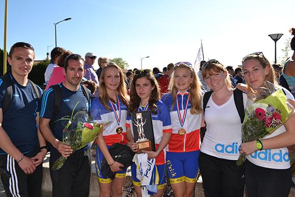 Le plein de réussite aux Championnats de France de duathlon et à la Coupe d'Europe de Quarteira