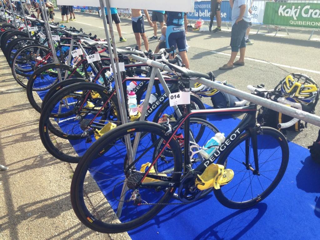 poissytriathlon - vélo dans le parc