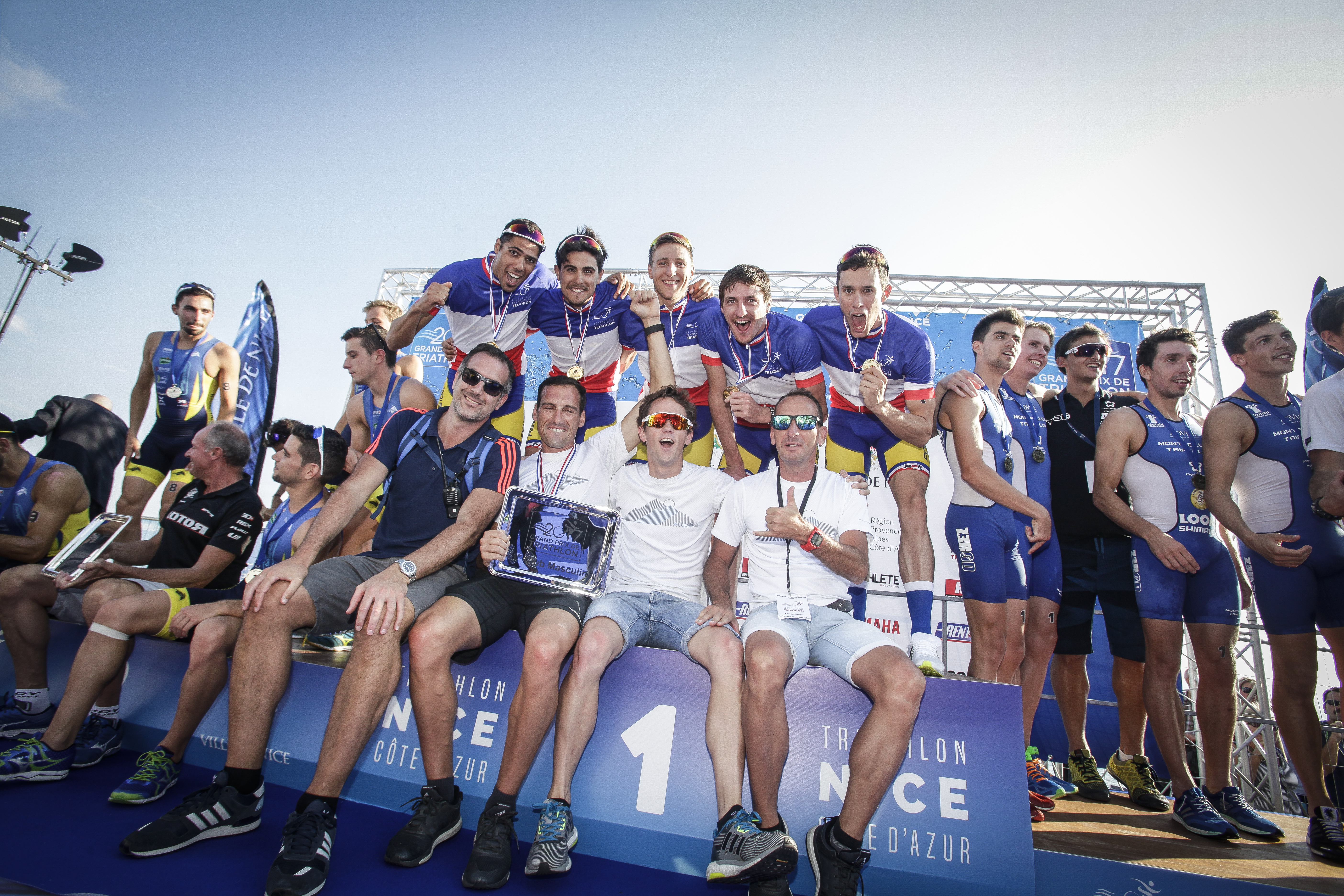 Bis Repetita - Champions de France Femmes et Hommes