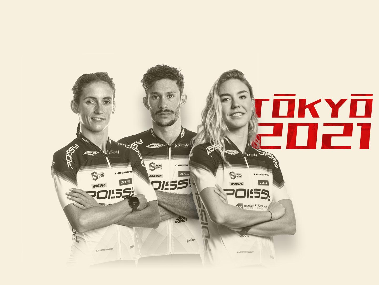 Trois triathlètes pisciacais mis en position de sélectionnable pour les Jeux Olympiques de Tokyo 2021