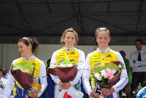 podium femmes triathlon de sartrouville